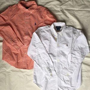 Ralph Lauren Button down shirt M (10-12)